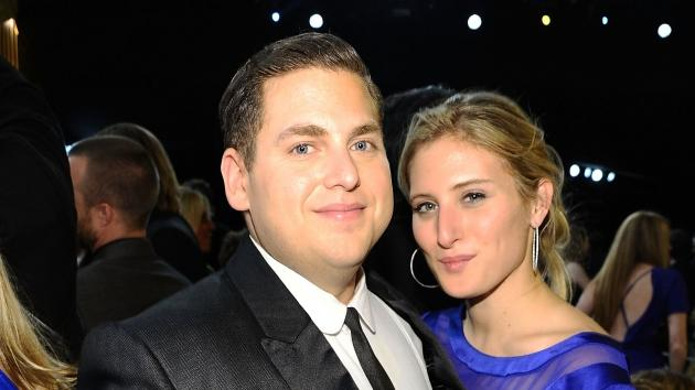 Jonah Hill and Ali Hoffman attend the 18th Annual Screen Actors Guild Awards at The Shrine Auditorium in Los Angeles on January 29, 2012 -- Getty Premium