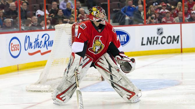 NHL: Washington Capitals at Ottawa Senators