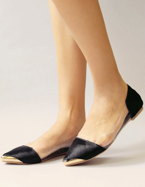 Pony lucite flats, $89 at Pixie Market