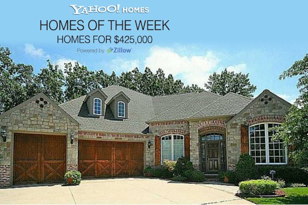 Yahoo! Homes of the Week: $425K homes cover