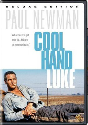 Box art for the Deluxe Edition DVD of Warner Bros. Pictures' Cool Hand Luke