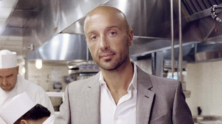 "In this book cover image released by Viking, ""Restaurant Man,"" by Joe Bastianich, is shown. (AP Photo/ Viking)"