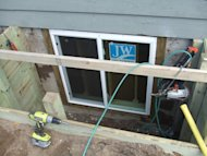 how to build an egress window