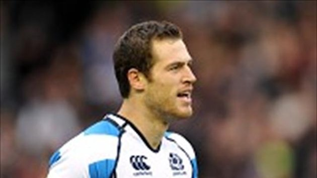 Tim Visser warned Scotland must be prepared for a tough Irish assault on Sunday
