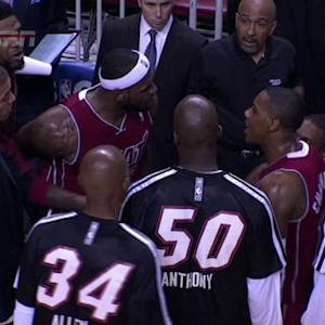 James and Chalmers Exchange Words