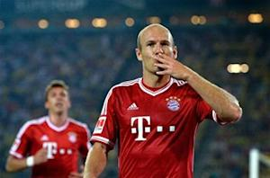 Robben: 'Special feeling to be back in London'