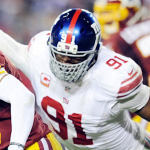 Week 13: New York Giants defensive lineman Justin Tuck highlights