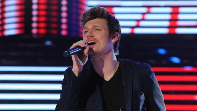 Nick Carter of Backstreet Boys performs on the stage during the Liaoning Television Station Spring Festival Gala recording, China, on January 17, 2013 -- Getty Images