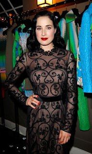 Dita Von Teese is on a mission to produce the perfect foundation for pale skin