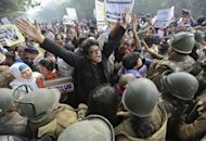 Imagen de una protesta, ayer, en Nueva Delhi (REUTERS/Adnan Abidi)