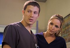Zach Gilford, Jordana Spiro | Photo Credits: Nathan Bell/Fox