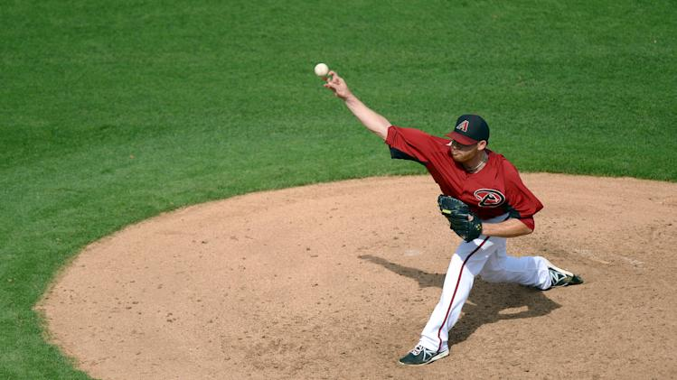 MLB: Spring Training-Cleveland Indians at Arizona Diamondbacks