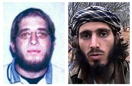 U.S. citizens Omar Shafik Hammami (R) and Jehad Serwan Mostafa are seen in undated FBI handout photos. REUTERS/FBI/Handout