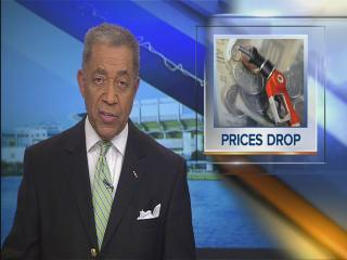 Noon: Gas prices drop