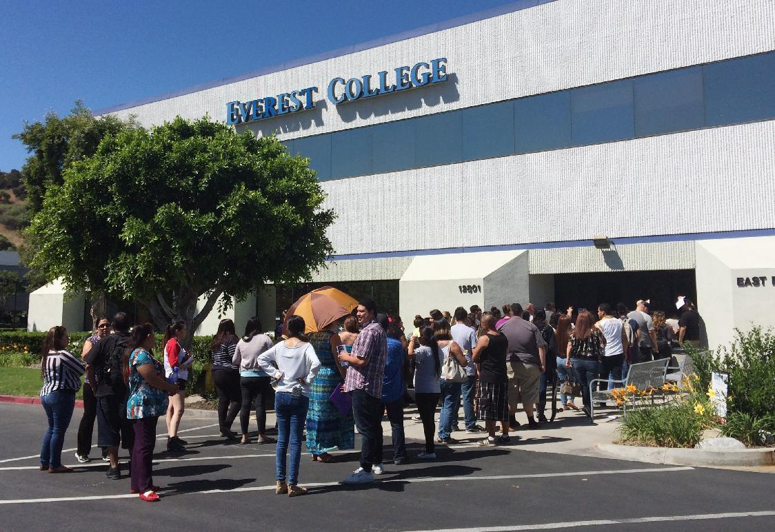 Students ask Education Department to discharge college debt