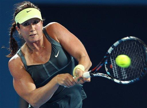 Wozniacki, Stosur out in 1st round at Brisbane