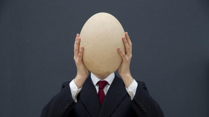 Huge elephant bird egg gets $101,813 at UK auction