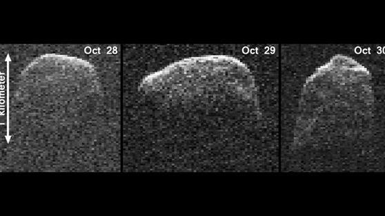 NASA Photos Show Mile-Wide Asteroid in Deep Space