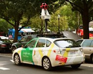 A Google Street View car is seen mapping Washington, DC in 2011. Google welcomed on Friday a ruling by Switzerland&#39;s highest court that it does not have to blur all faces and car registrations on its Street View service in the country