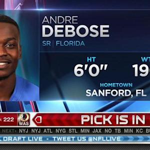 Oakland Raiders pick wide receiver Andre Debose No. 221 in 2015 NFL Draft
