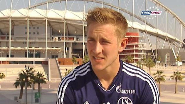 Lewis Holtby im Interview mit Eurosport