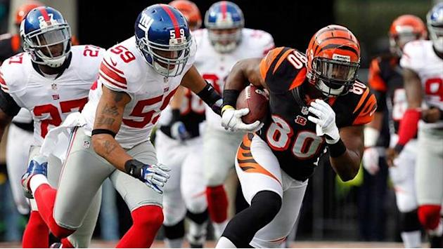 American Football - Saints end Falcons' unbeaten run, Bengals stun Giants