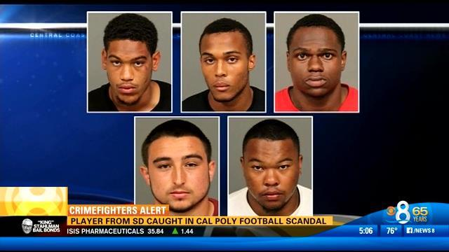 Player from San Diego caught in Cal Poly football scandal