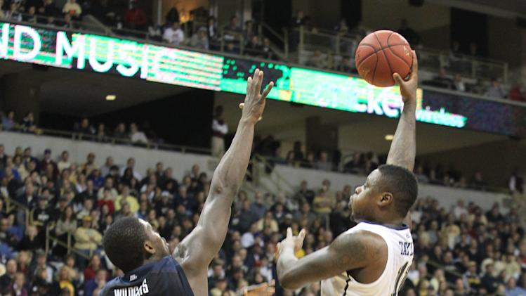 NCAA Basketball: Villanova at Pittsburgh