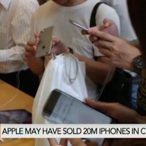China iPhone Sales Expected to Beat U.S.