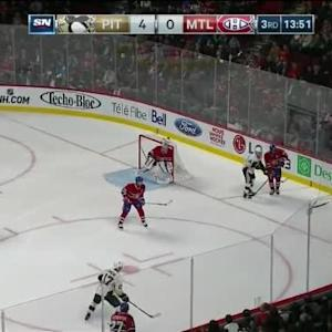 Andrei Markov Hit on Sidney Crosby (06:13/3rd)