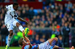 Aston Villa 1-1 Swansea: Lamah strike denies Villains
