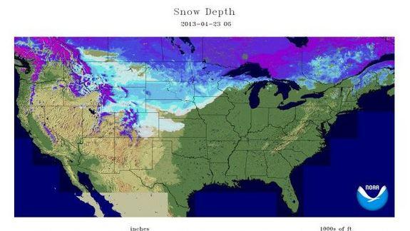 Why Has There Been So Much Snow This Spring?
