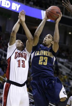 No. 12 seed Cal beats No. 5 seed UNLV 64-61