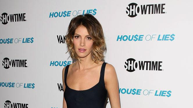 "Dawn Olivieri arrives at the premiere party for Showtime's new series ""House of Lies&quot held at the AT&T Center Theatre on January 4, 2012 in Los Angeles, California."