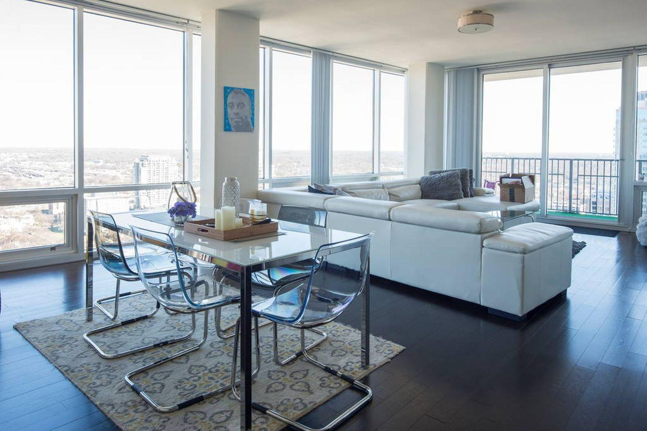 Watch the Super Bowl in this Carolina Panthers player's apartment for just $5,000