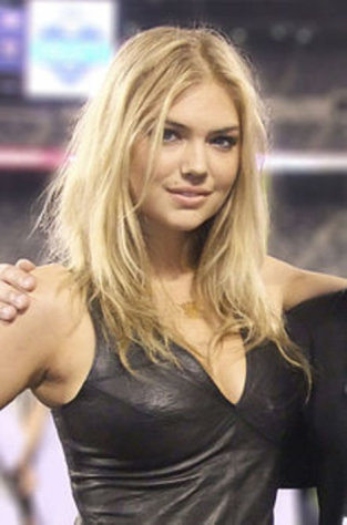 2012 Sports Illustrated Swimsuit cover model Kate Upton.