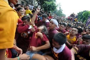 Hundreds were injured during the religious gathering…