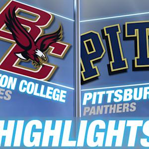 Boston College vs Pittsburgh | 2014-15 ACC Women's Basketball Highlights