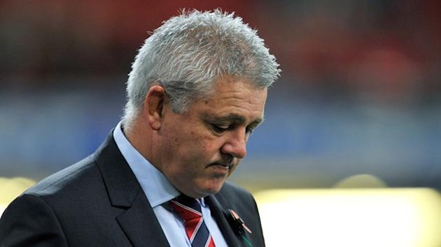 Wales' head coach Warren Gatland