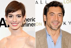 Anne Hathaway and Javier Bardem  | Photo Credits: Rob Kim/FilmMagic, Dave M. Benett/WireImage