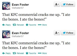 Evaluating KFC's Ad Campaign Success image KFC ad campaign tweets