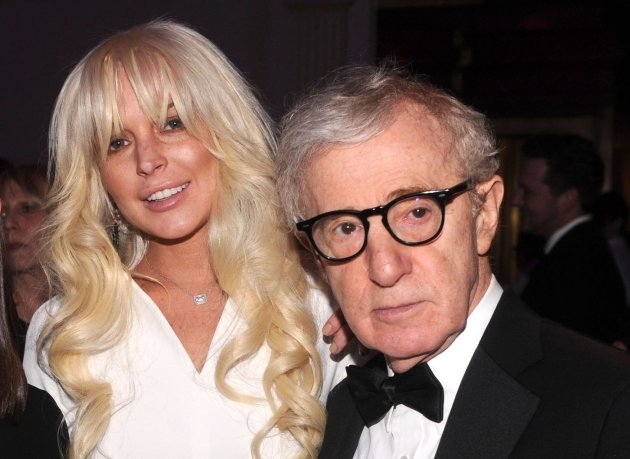 Lindsay Lohan and Woody Allen …