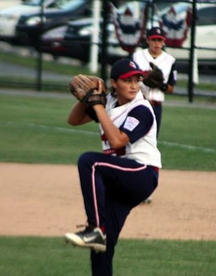 Kristen Moldovan is one of just six girls to reach the Junior Little League World Series — Courtesy photo