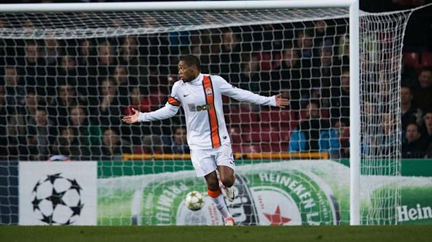 Luiz Adriano Nordsjaelland Shakhtar Donetsk 2012