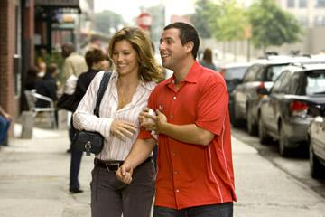 Jessica Biel and Adam Sandler in Universal Pictures' I Now Pronounce You Chuck & Larry