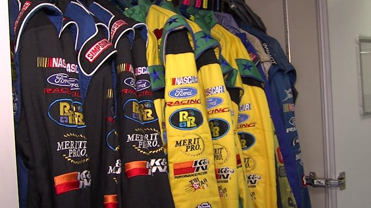 Take a Look Inside a NASCAR Hauler