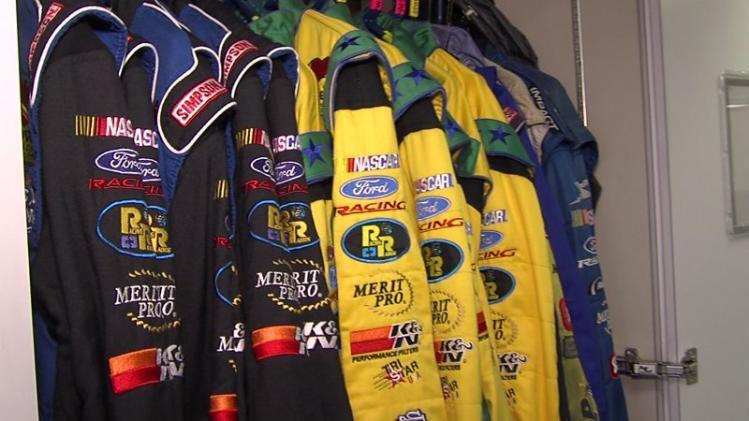 Take a Look Inside a NASCAR Hauler