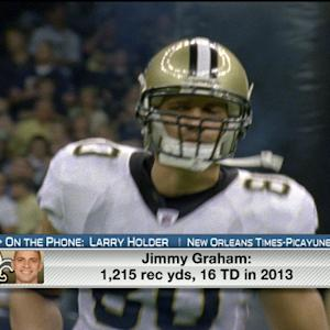 What's next for New Orleans Saints' Jimmy Graham?