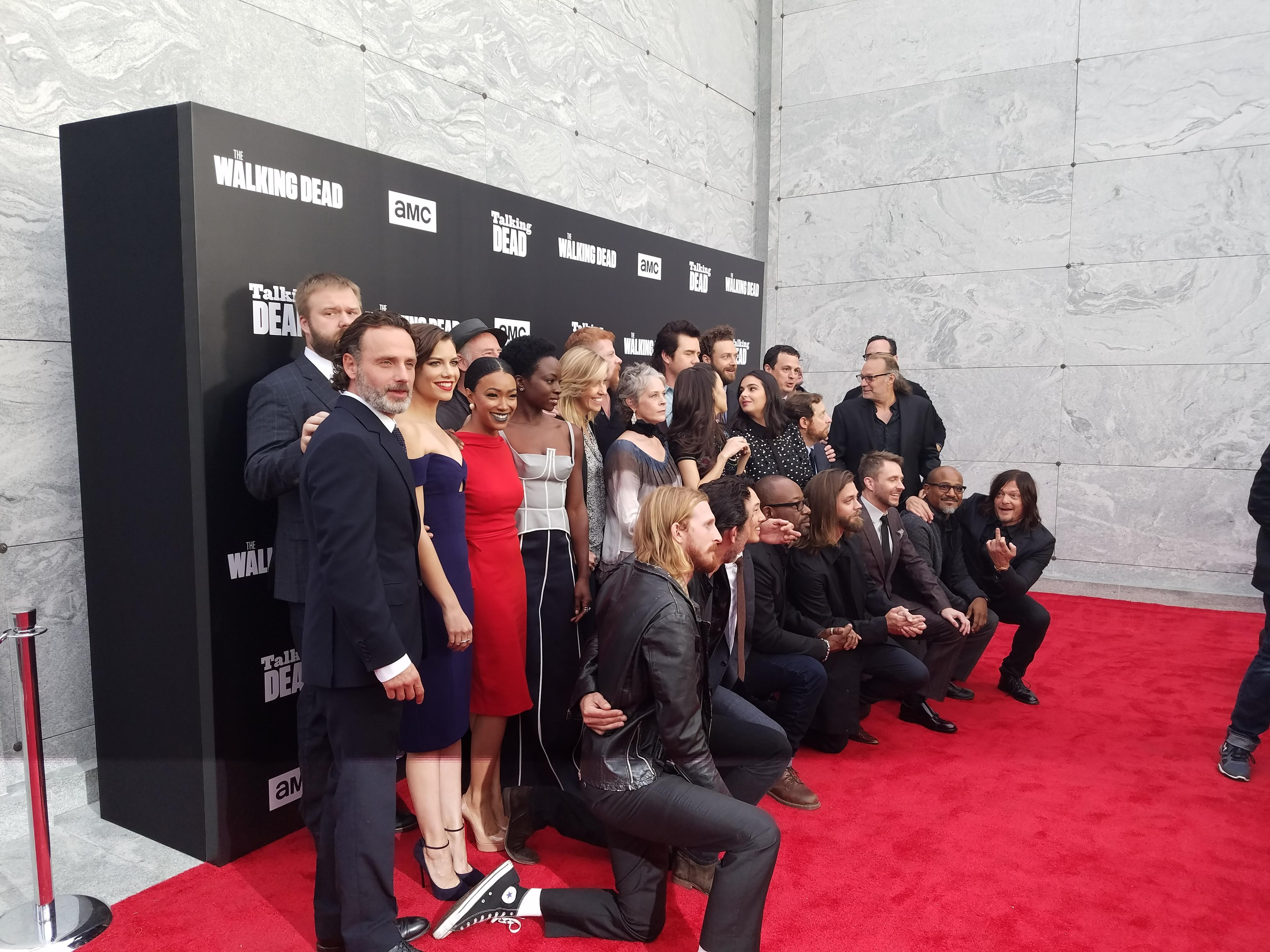 'The Talking Dead': 'Walking Dead' Cast Talk Shocking Character Deaths In Rainy Live Event