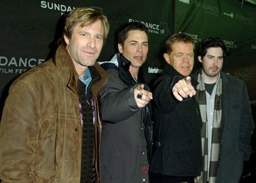 Aaron Eckhart, Rob Lowe, William H. Macy and director Jason Reitman